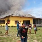 Quarta-feira de violência, quebra-quebra e tensão, em Coari-AM