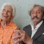 'Noites são agitadas', diz idosa de 90 anos sobre lua de mel após casório