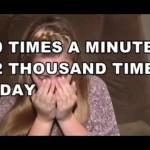 Garota espirra até 12 mil vezes por dia por conta de condição misteriosa