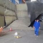 Explosão mata trabalhador em galpão de empresa de construção naval, na zona Oeste