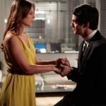 Como namorados, Mateus Solano e Paolla Oliveira se reencontram no cinema
