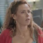 Gilda acusa Riscado de ter roubado o dinheiro do Flor do Lácio, em Totalmente Demais