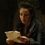 Joaquina recebe bilhete pedindo o resgate de Bertoleza, em Liberdade, Liberdade
