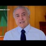 Em vídeo, Temer comenta 10 anos da lei Maria da Penha