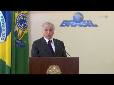 Temer lembra que preocupação do Brasil com meio ambiente é antiga