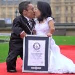 Casal brasileiro, menor do mundo, recebe certificado do Guinness Book