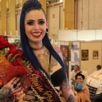 Curitibana de 27 anos é eleita Musa Brasil Tattoo, em Joinville