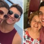 Ex-BBB Manoel visita a casa de Vivian em Manaus e posa com a sogra: 'Maravilhosa'
