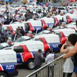 Amazonino entrega novas viaturas e anuncia que zona Norte será a próxima a receber reforço no policiamento