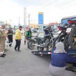 Operação contra transporte irregular retira 15 veículos das ruas da capital