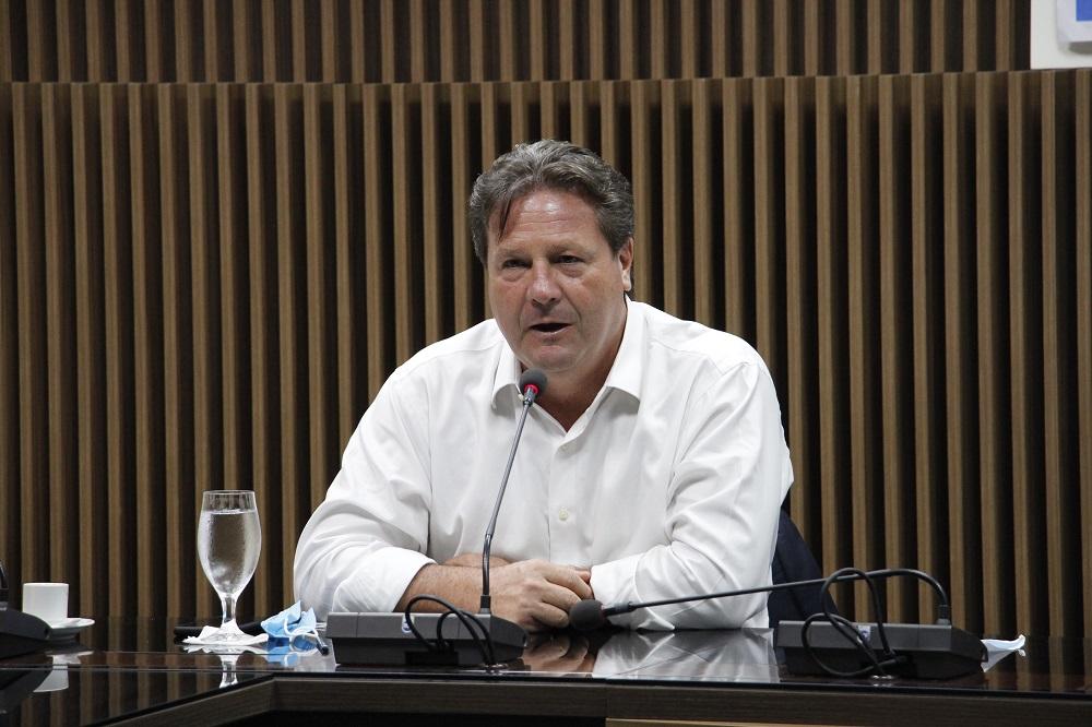 O presidente do CIEAM Wilson Perico