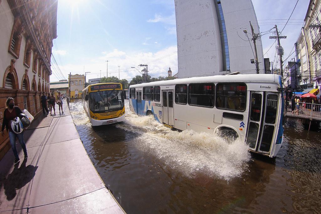 Medidas para evitar inundações estão entre as 38 ações de revitalização do centro histórico da capital, diz prefeitura