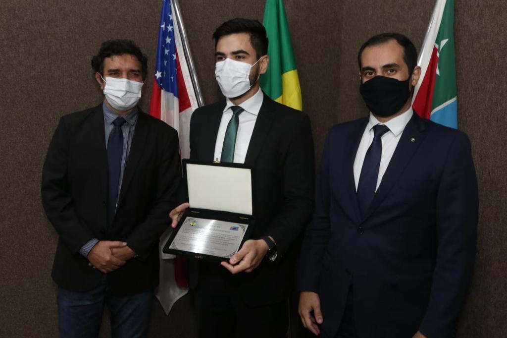 Defensor Público Oswaldo Machado Neto é novo Cidadão itacoatiarense