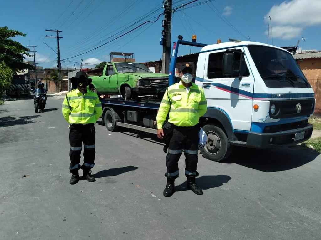 Comércio irregular de materiais e sucatas metálicas é alvo de operação conjunta da prefeitura e governo do estado