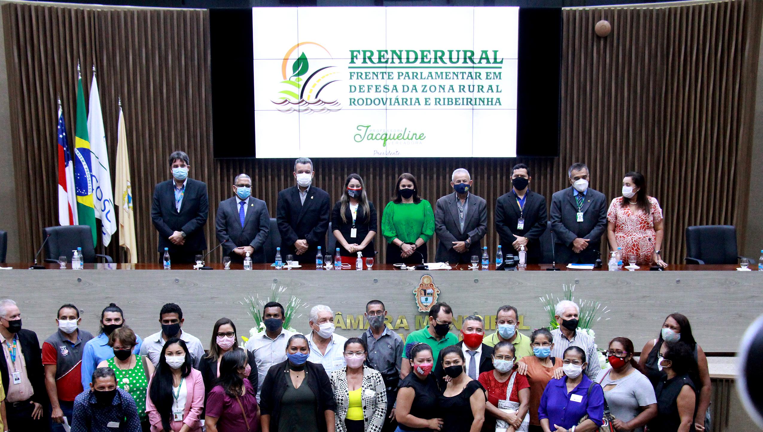 CMM lança Frente Parlamentar em defesa da zona rural rodoviária e ribeirinha de Manaus