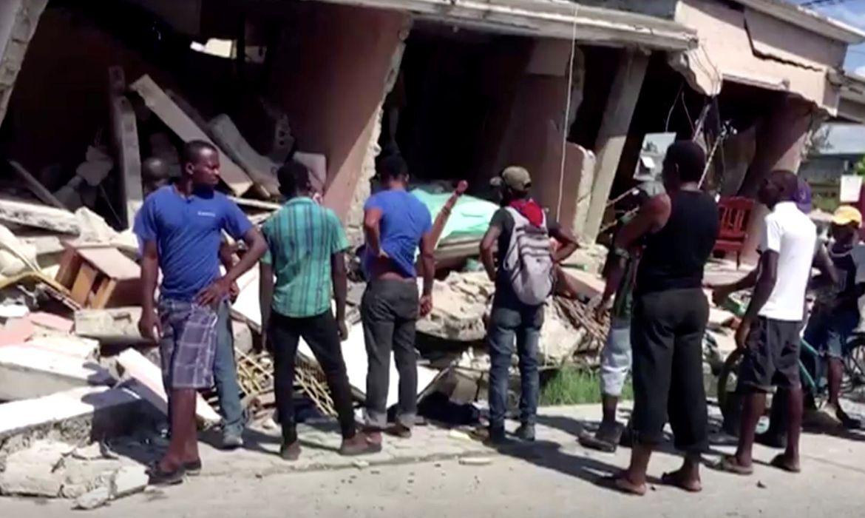 Haiti: terremoto registra pelo menos 29 mortes e dezenas de feridos