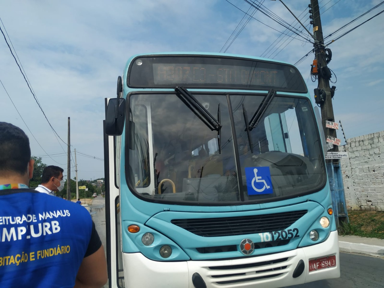 Linha de ônibus é ampliada pela Prefeitura para atender moradores do Cidadão Manauara 2