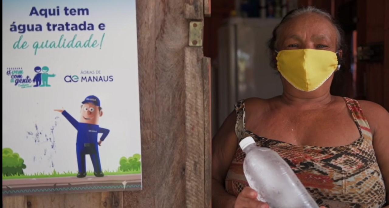 Após décadas sem o serviço, comunidades vulneráveis de Manaus recebem 100 quilômetros de novas redes de água tratada
