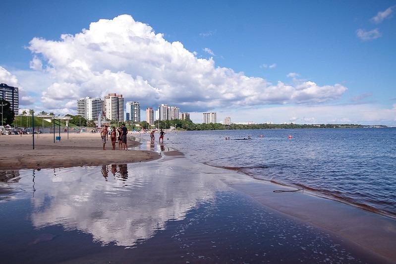 Praia da Ponta Negra fica interditada no feriado da Semana da Pátria, atendendo decreto do prefeito