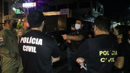 3 festas clandestinas com mais de mil pessoas aglomeradas são fechadas pela CIF em Manaus